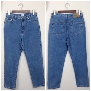 •CALVIN KLEIN• Vintage High-Rise Tapered Mom Jeans